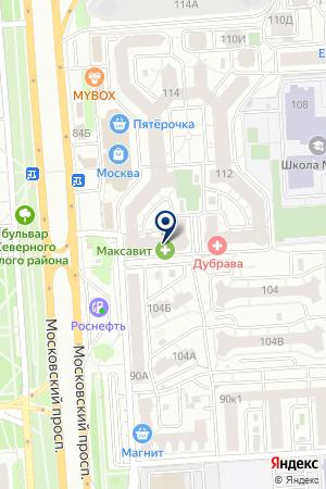 Машпромкомплект на карте Воронежа