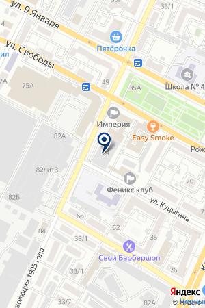 Техоснастка на карте Воронежа