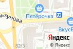 Схема проезда до компании Киоск по продаже печатной продукции в Воронеже