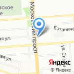 Сеть клинических аптек на карте Воронежа