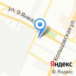 Центр экономической информации на карте Воронежа