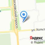 Салон оперативной полиграфии на карте Воронежа