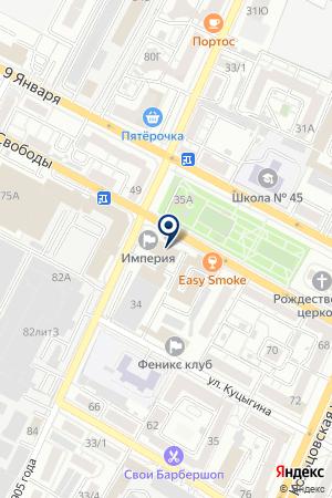 ЦЕНТР ИНВЕСТИЦИЙ ЦИТАДЕЛЬ на карте Воронежа