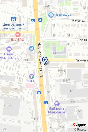 Ваш выбор на карте Воронежа