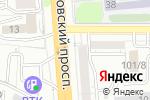 Схема проезда до компании Пуф Пуфыч в Семилуках