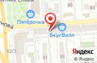 Схема проезда до компании Терминал Н в Воронеже