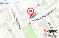 Схема проезда до компании Вечерняя Газета в Воронеже