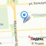 Воронежлеспроект на карте Воронежа