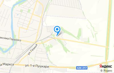 Местоположение на карте пункта техосмотра по адресу Липецкая обл, г Лебедянь, ул Л.Толстого, д 75