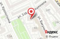 Схема проезда до компании Научное Производственное Объединение «Инфобезопасность» в Воронеже