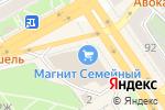 Схема проезда до компании Виктория-Оптика в Воронеже