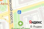 Схема проезда до компании Нотариус Гаврилова Л.В. в Воронеже