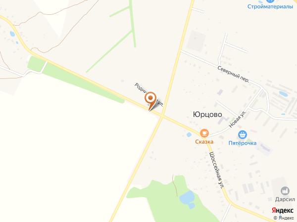Остановка Юрцово (поворот) (Московская область)