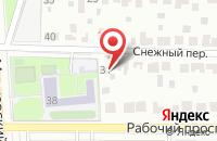 Схема проезда до компании Бон Тон в Воронеже