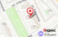 Схема проезда до компании Управление Автомобильного Транспорта и Механизации Зодиак в Воронеже