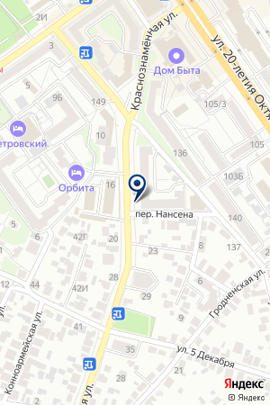 ЗемКадастр и Недвижимость на карте Воронежа