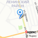 Киоск по продаже хлебобулочных изделий на карте Воронежа