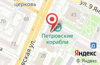 Схема проезда до компании Воронежские Вести в Воронеже