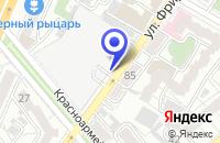 Схема проезда до компании ВОРОНЕЖСКИЙ ХЛЕБОЗАВОД № 1 в Воронеже