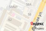 Схема проезда до компании Много Мебели в Воронеже