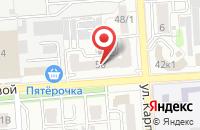 Схема проезда до компании Аргентум Капитал в Воронеже