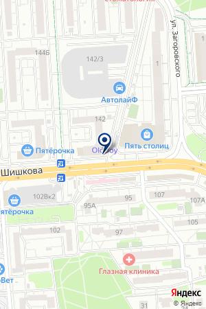 Банкомат, Сбербанк, ПАО на карте Воронежа