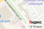 Схема проезда до компании Идеал-кейтеринг в Воронеже