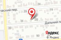 Схема проезда до компании Росинфрагаз в Приволжском
