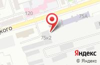 Схема проезда до компании Ультралайт в Воронеже
