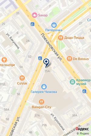 STUDIO 23 на карте Воронежа