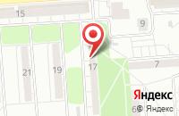 Схема проезда до компании Формула-Здоровья в Воронеже