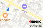 Схема проезда до компании Госавтошкола в Воронеже
