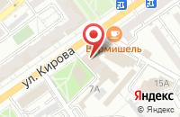 Схема проезда до компании Авангард-В в Воронеже