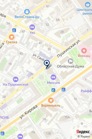 Brow & lash на карте Воронежа