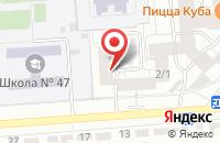 Схема проезда до компании Экспертное Бюро Информационного Права в Воронеже