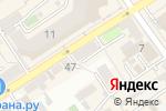 Схема проезда до компании Элегант в Воронеже