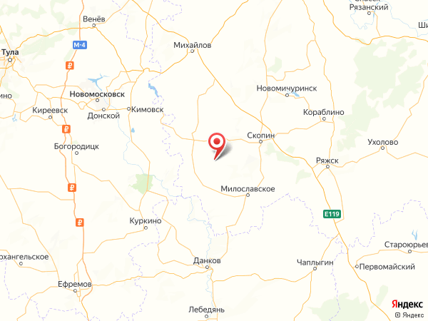 село Ново-Александрово на карте
