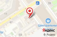 Схема проезда до компании ФинКом в Воронеже