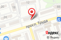 Схема проезда до компании Тксф в Воронеже
