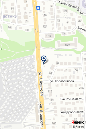 Сто36 на карте Воронежа