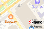 Схема проезда до компании Beauty Day в Воронеже