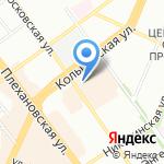 Свежая посуда на карте Воронежа