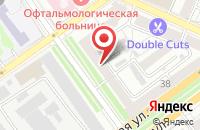 Схема проезда до компании ПРО - движение в Воронеже