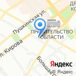 Грамотная канцелярия на карте Воронежа