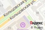 Схема проезда до компании Институт менеджмента, маркетинга и финансов в Воронеже