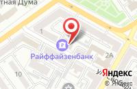 Схема проезда до компании Алга в Воронеже