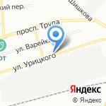 Лири на карте Воронежа