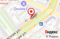 Схема проезда до компании Геоэкология в Воронеже