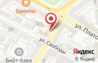 Схема проезда до компании Давион в Воронеже