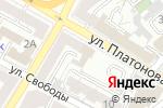 Схема проезда до компании СЛОН в Воронеже